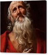 Saint Jerome Canvas Print