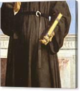 Saint Nicholas Of Tolentino Canvas Print