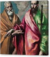 Saint Peter And Saint Paul Canvas Print