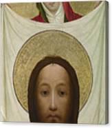 Saint Veronica With The Sudarium Canvas Print