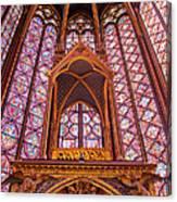 Sainte Chapelle Canvas Print