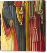 Saints Peter And Jerome Canvas Print