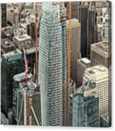 Salesforce Tower In San Francisco Canvas Print