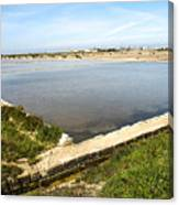 Salt Marshes - Trapani Salt Flats Canvas Print