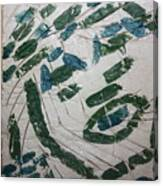 Samson - Tile Canvas Print