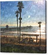 San Clemente Pier Canvas Print