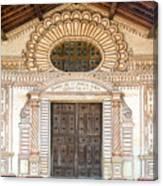 San Javier Church Facade Canvas Print