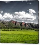 San Juan Mountains Of Colorado Canvas Print