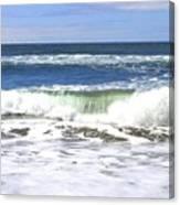 Sand And Sea 1 Canvas Print