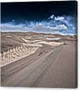 Sand Dunes Of Colorado Canvas Print