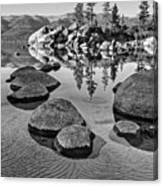 Sand Harbor Ripples Canvas Print