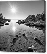 Sand Harbor Star Canvas Print