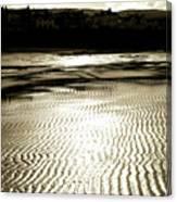 Sand Patterns. Canvas Print