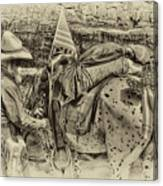 Santa Fe Cowboy Canvas Print