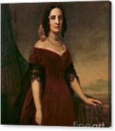 Sarah Polk, First Lady Canvas Print
