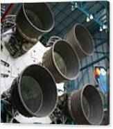 Saturn V Rocket Canvas Print