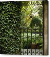 Savannah Gate Canvas Print