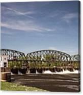 Schenectady Lock 8 Canvas Print