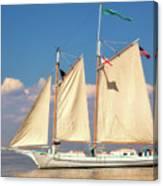 Schooner On Mobile Bay Canvas Print