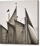 Schooner Pride Tall Ship Charleston Sc Canvas Print
