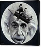 Scientific Comedy Canvas Print