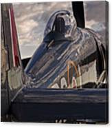Sea Fury Reflections Canvas Print