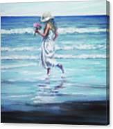Sea Walk Canvas Print