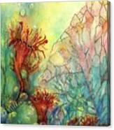 Seaflowers II Canvas Print