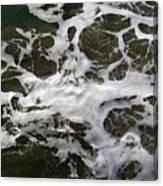 Seafoam Lace Canvas Print