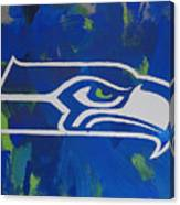 Seahawks Fan Canvas Print
