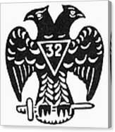 Seal: Freemasonry Canvas Print