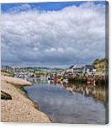 Seaton Harbour - Devon Canvas Print