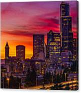 Seattle Colors... Canvas Print