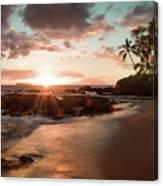 Secret Beach Maui Canvas Print