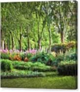 Secret Garden    Op Canvas Print
