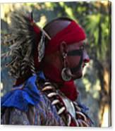 Seminole Warrior Canvas Print