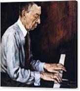 Sergei Rachmaninoff Canvas Print