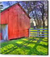 Shaker Carriage Barn 2 Canvas Print