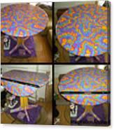 Sharpie Star Table Canvas Print