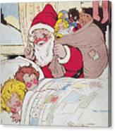 Sheet Music Cover, 1911 Canvas Print