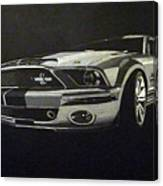 Shelby Mustang Front  Canvas Print
