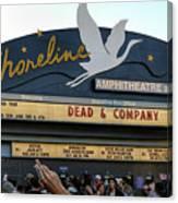 Shoreline Amphitheatre - Dead And Company Canvas Print