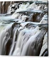 Shoshone Falls Close Up Canvas Print