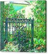 Side Gate Canvas Print
