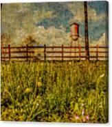 Siluria Cotton Mill Canvas Print