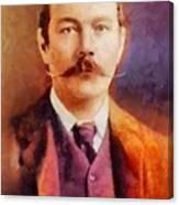 Sir Arthur Conan Doyle, Literary Legend Canvas Print