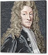Sir Christopher Wren, Architect Canvas Print