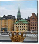Skeppsholmsbron - Stockholm Canvas Print