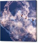 Sky Surfing Canvas Print