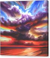 Skyburst Canvas Print